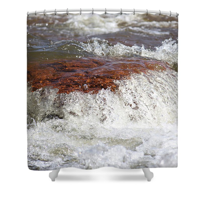 Shower Curtain featuring the photograph Arizona Water by Debbie Hart