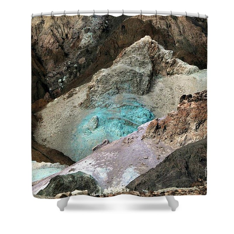 Artist Shower Curtain featuring the photograph Artist Palette by Kathleen Struckle
