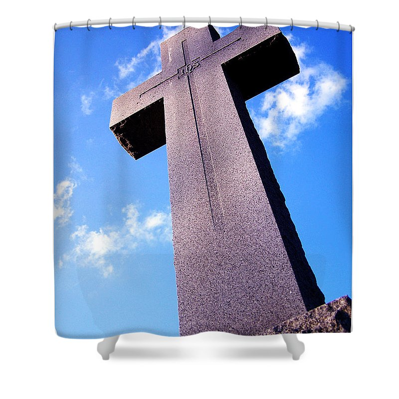 Spiritual Shower Curtain featuring the photograph Ascension by Gene Tatroe