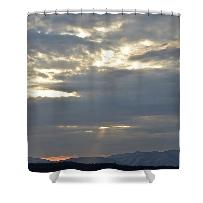 Water Shower Curtain featuring the photograph Ashokan Reservoir 14 by Cassie Marie Photography