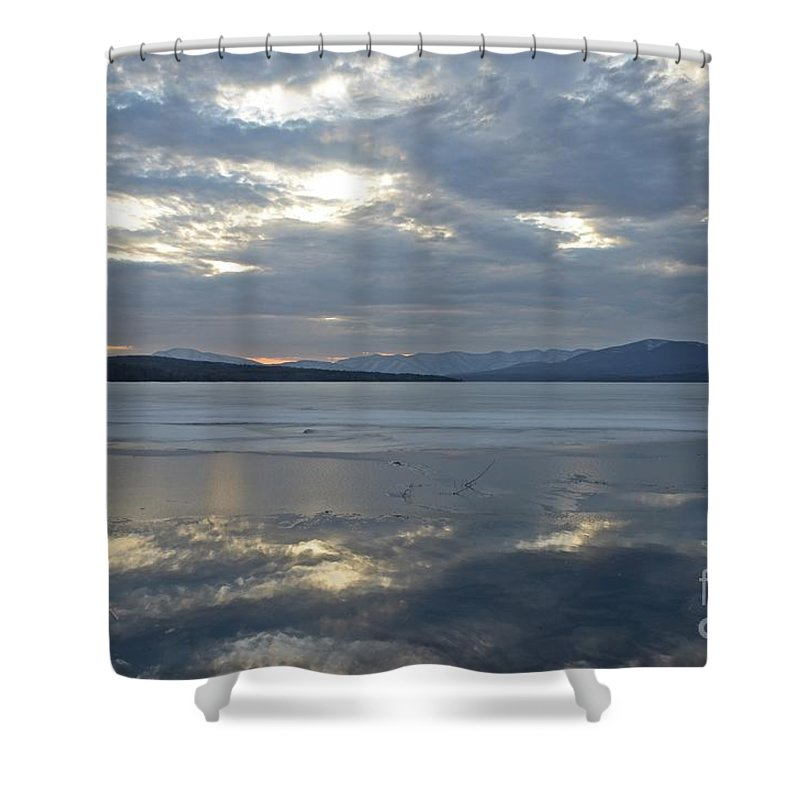 Water Shower Curtain featuring the photograph Ashokan Reservoir 16 by Cassie Marie Photography