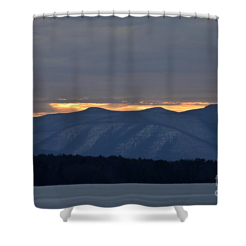 Water Shower Curtain featuring the photograph Ashokan Reservoir 21 by Cassie Marie Photography