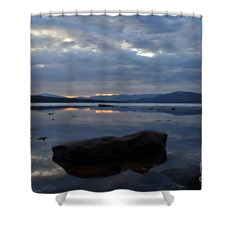 Water Shower Curtain featuring the photograph Ashokan Reservoir 22 by Cassie Marie Photography