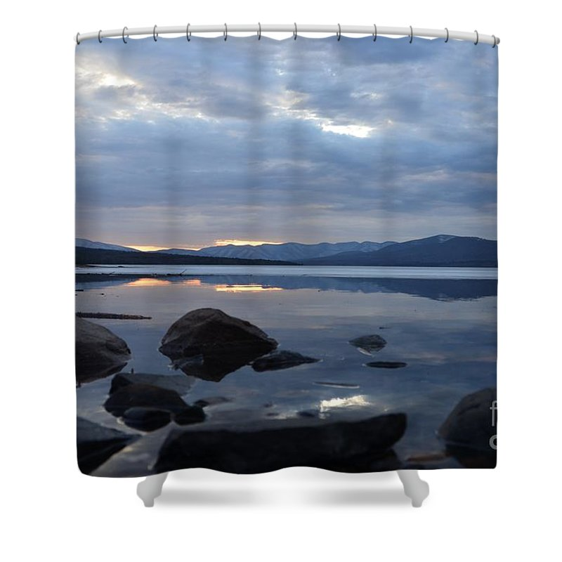Water Shower Curtain featuring the photograph Ashokan Reservoir 26 by Cassie Marie Photography