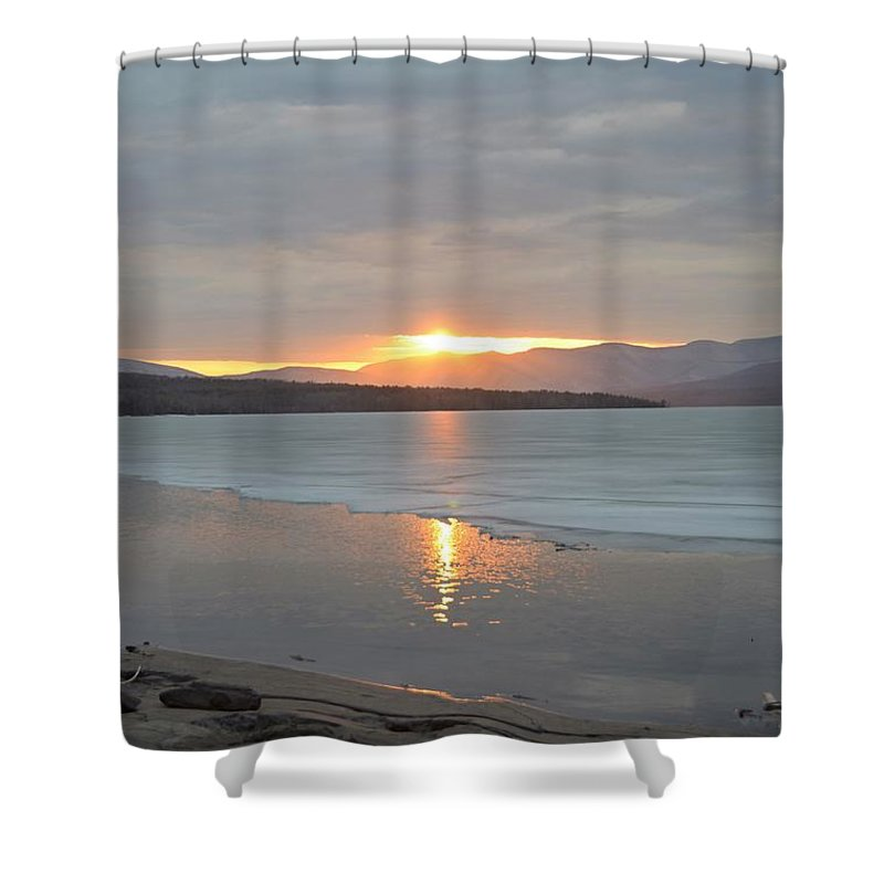 Water Shower Curtain featuring the photograph Ashokan Reservoir 33 by Cassie Marie Photography