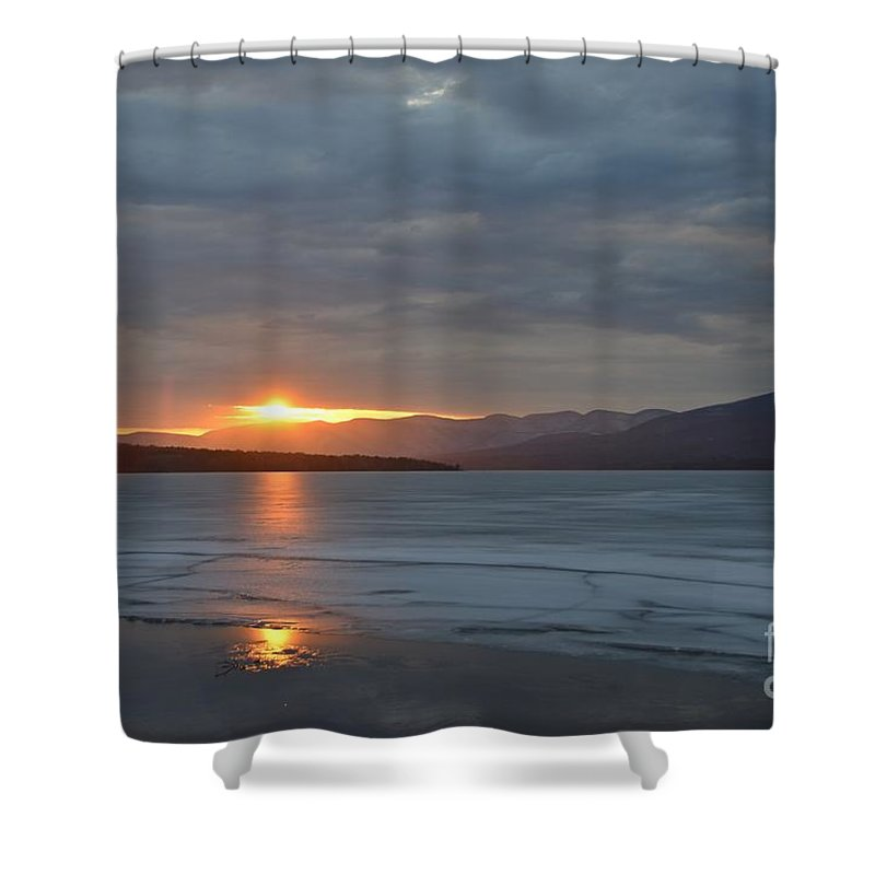 Water Shower Curtain featuring the photograph Ashokan Reservoir 34 by Cassie Marie Photography