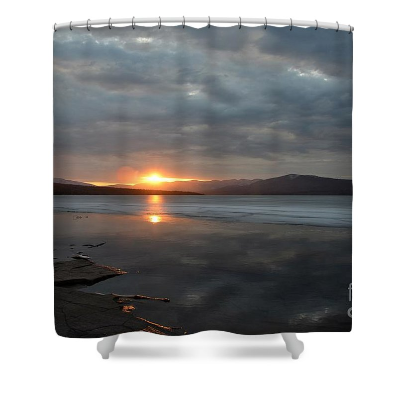 Water Shower Curtain featuring the photograph Ashokan Reservoir 37 by Cassie Marie Photography
