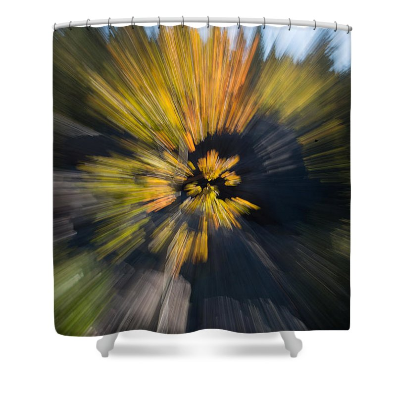 2012 Shower Curtain featuring the photograph Aspen Explosion by Josh Baker