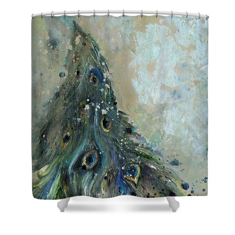 Iridescent Shower Curtains