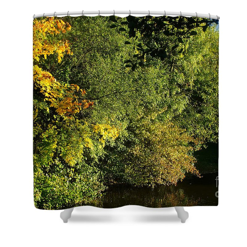 Nature Shower Curtain featuring the photograph Autumn Colors 3 by Rudi Prott