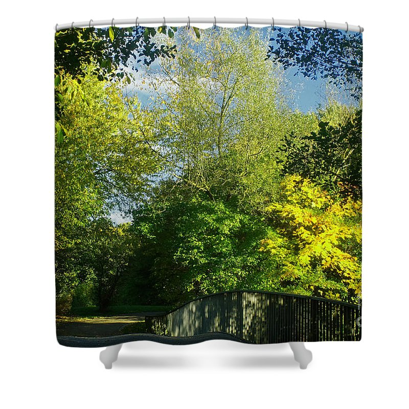 Nature Shower Curtain featuring the photograph Autumn Colors 4 by Rudi Prott
