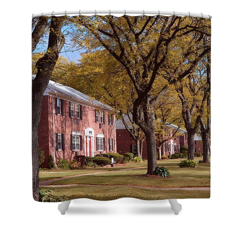 Happy Thanksgiving Shower Curtain featuring the photograph Autumn Days by Sonali Gangane