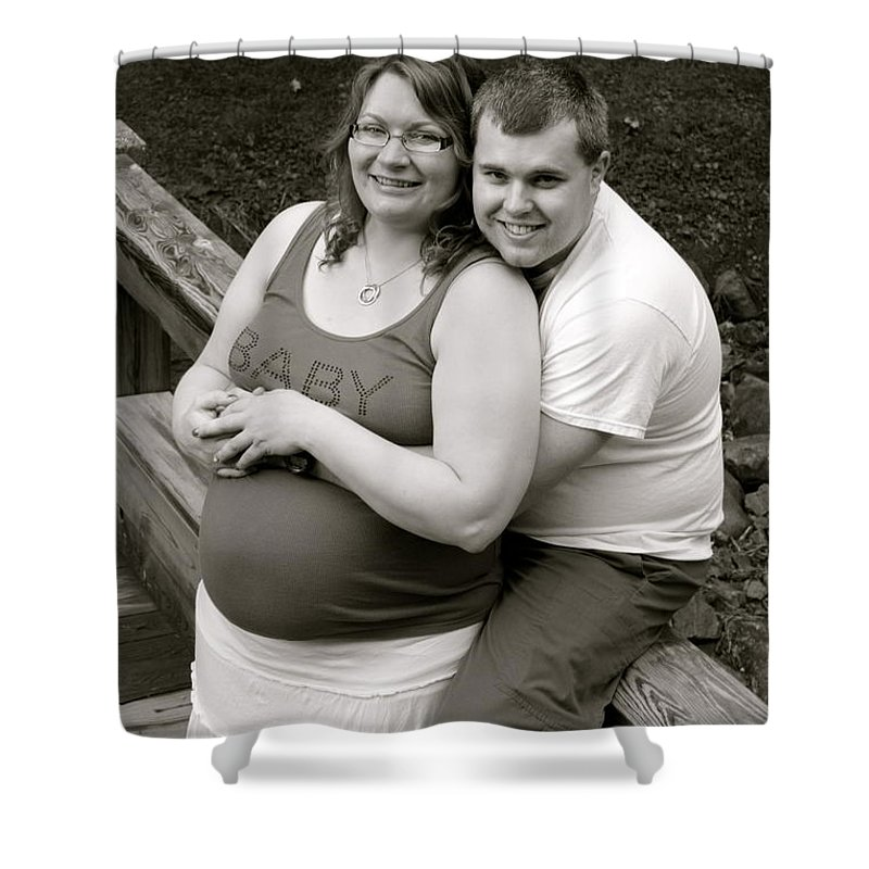 Pregnant Shower Curtain featuring the photograph Baby Baby by Tiffany Erdman