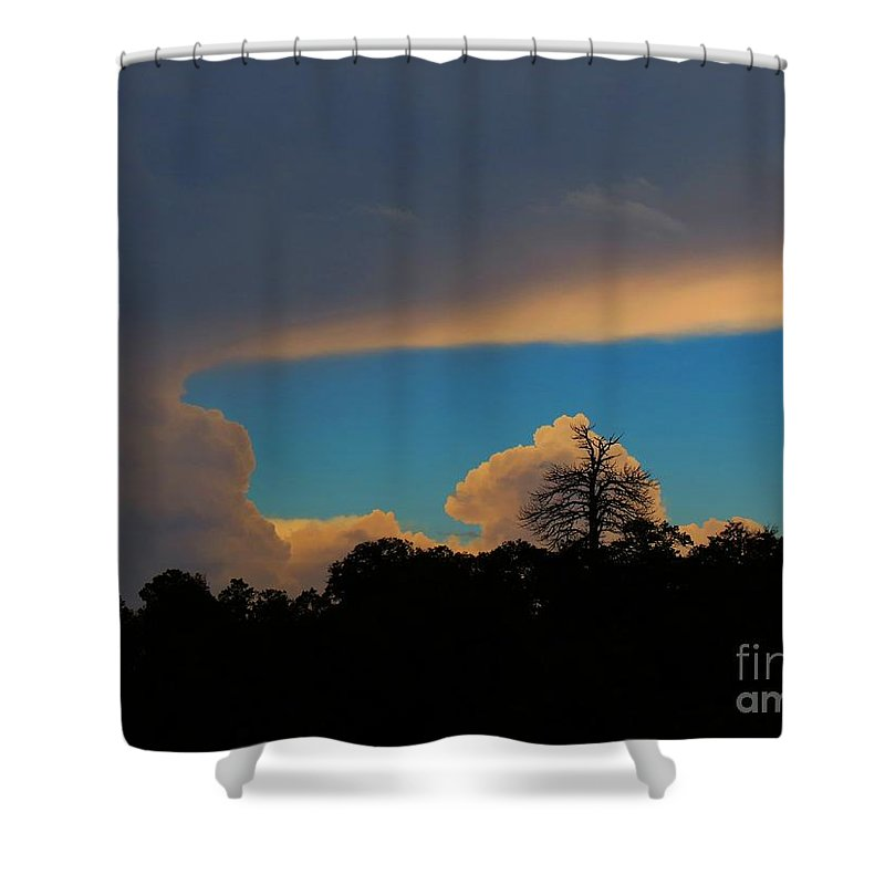 Grand Canyon Shower Curtain featuring the photograph Backbone by Rrrose Pix