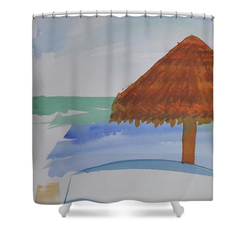 Baja Shower Curtain featuring the photograph Baja by Kimberly Maxwell Grantier