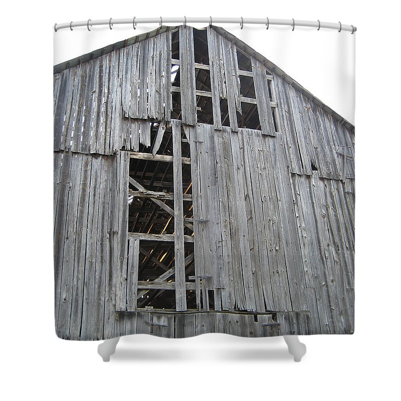 Barn Shower Curtain featuring the photograph Barn Side by IMH Photog