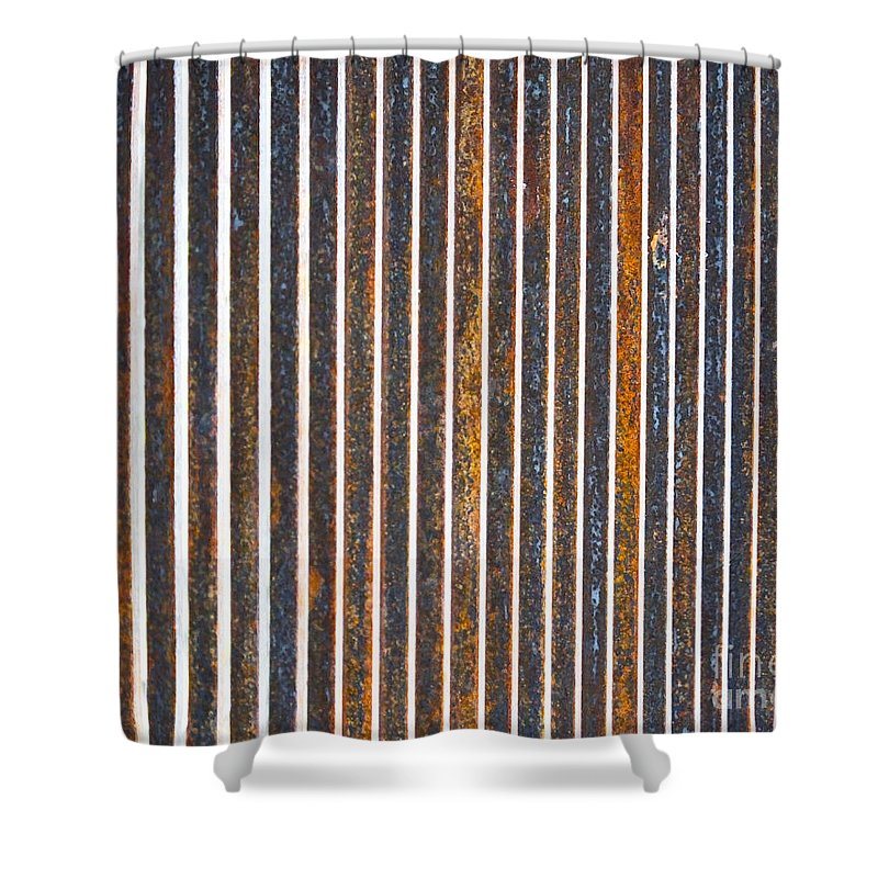 Artoffoxvox Shower Curtain featuring the photograph Barred by Kristen Fox