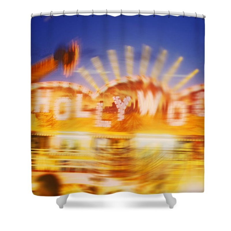 Hollywood Shower Curtain featuring the painting Be Thy Name by Charles Stuart
