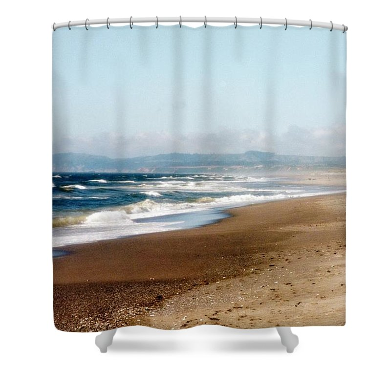 Ocean Shower Curtain featuring the photograph Beach Heaven by Tammy Bryant