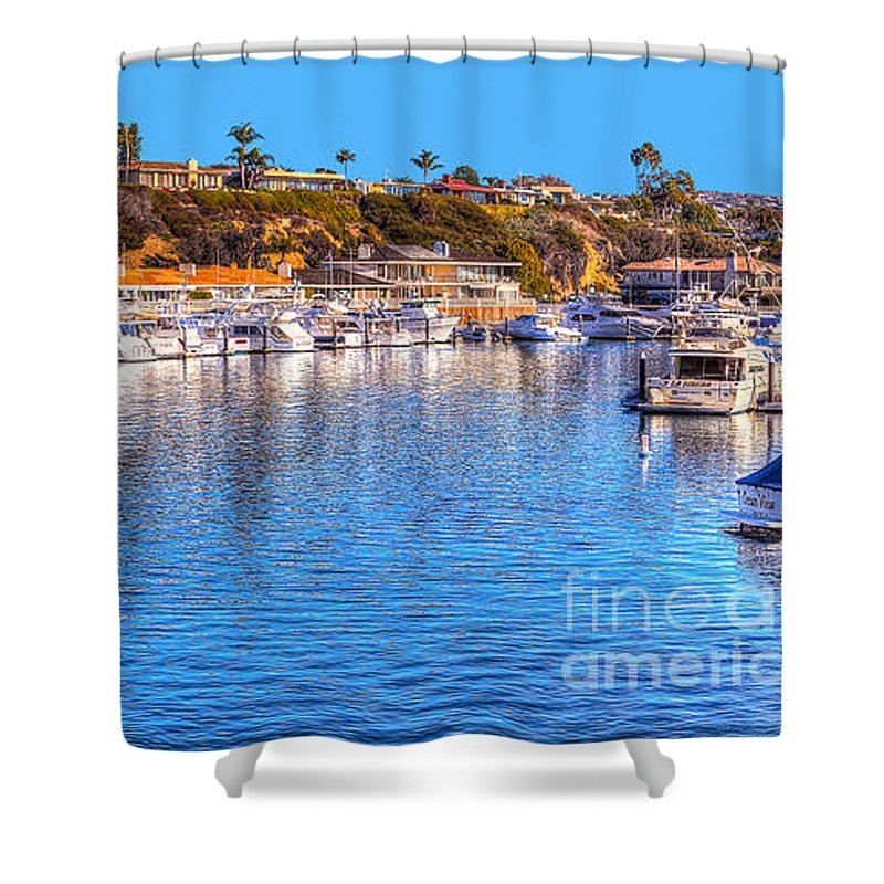 Beacon Bay Shower Curtain featuring the photograph Beacon Bay - South by Jim Carrell