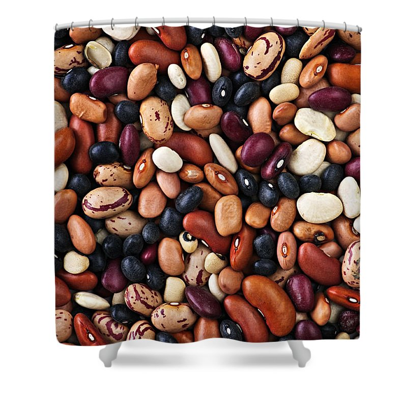 Beans Shower Curtain featuring the photograph Beans by Elena Elisseeva