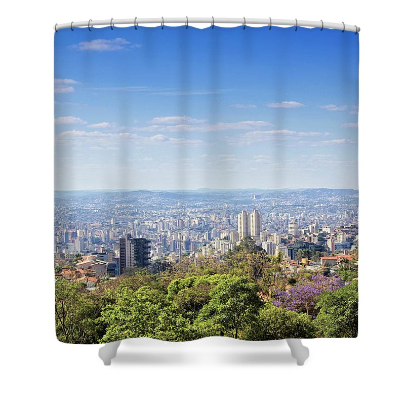 Tranquility Shower Curtain featuring the photograph Belo Horizonte by Antonello