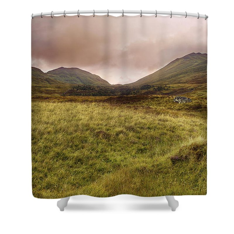 Ben Lawers Shower Curtain featuring the photograph Ben Lawers - Scotland - Mountain - Landscape by Jason Politte