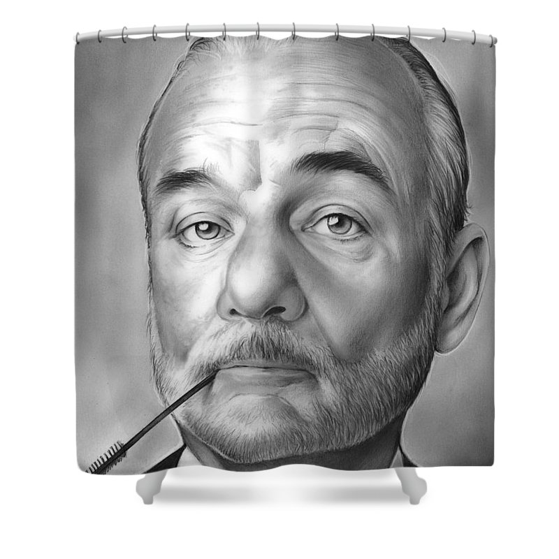 Actor Shower Curtain Featuring The Drawing Bill Murray By Greg Joens