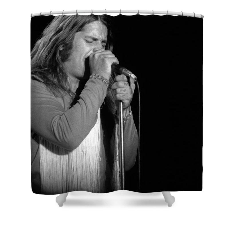 Black Sabbath Shower Curtain featuring the photograph Black Sabbath #44 by Ben Upham
