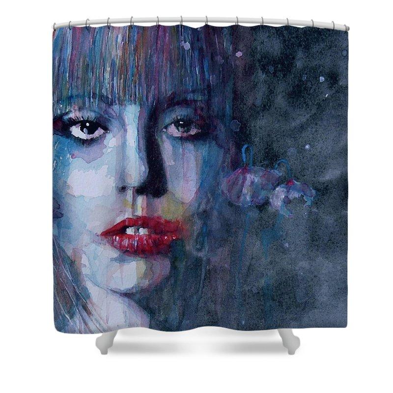 Lady Gaga Shower Curtains