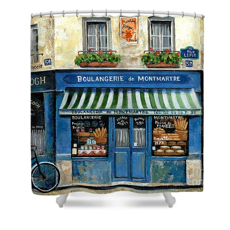 Street Scene Shower Curtains
