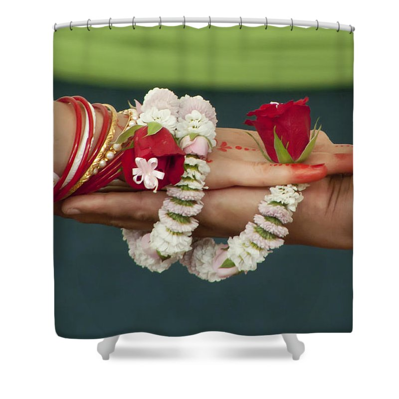 Bound Shower Curtain featuring the photograph Bound For Eternity by Daniel Csoka