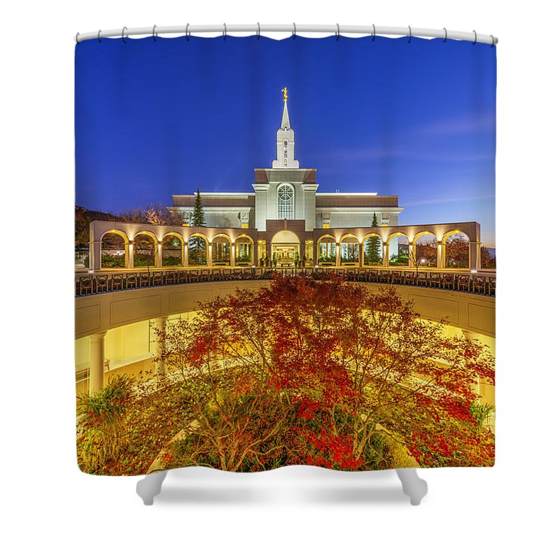Lds Shower Curtain featuring the photograph Bountiful by Dustin LeFevre