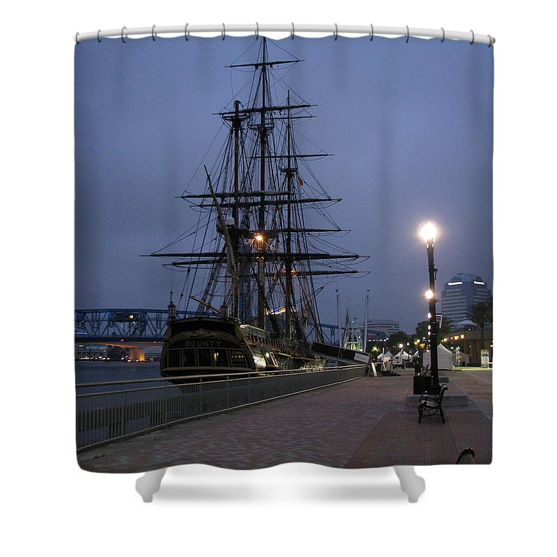 Patzer Shower Curtain featuring the photograph Bounty by Greg Patzer