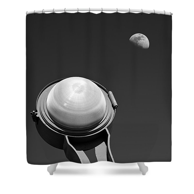 Golden Gate Bridge Shower Curtain featuring the photograph Bridge Light by Dave Bowman