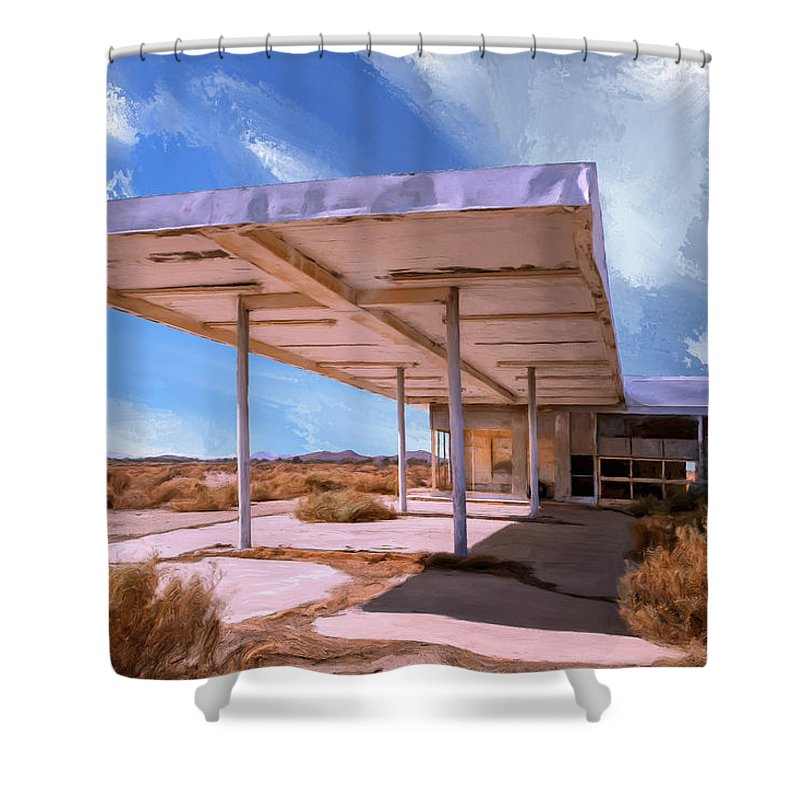 Broken Dreams Shower Curtain featuring the painting Broken Dreams 2 by Dominic Piperata