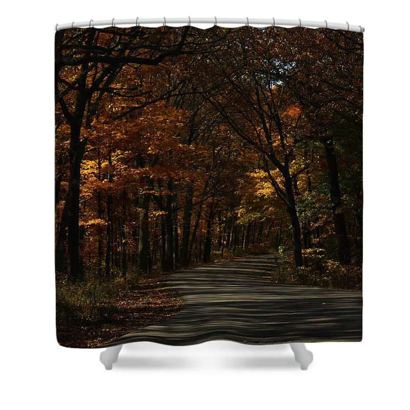 Brown County State Park Shower Curtain featuring the photograph Brown County State Park by Dan McCafferty