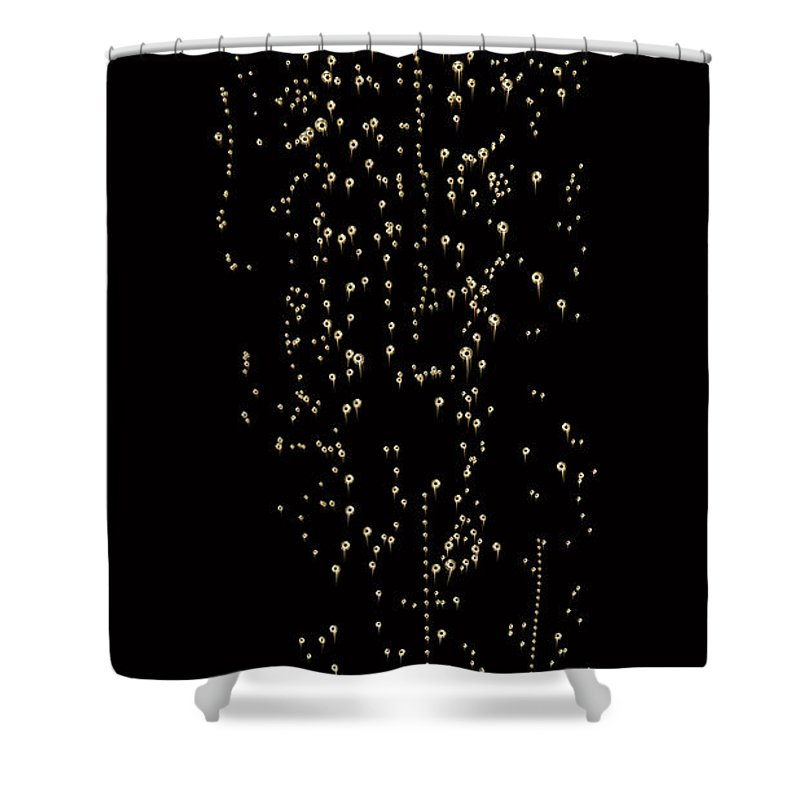 Alcohol Shower Curtain featuring the photograph Bubble Champagne by Jamesachard