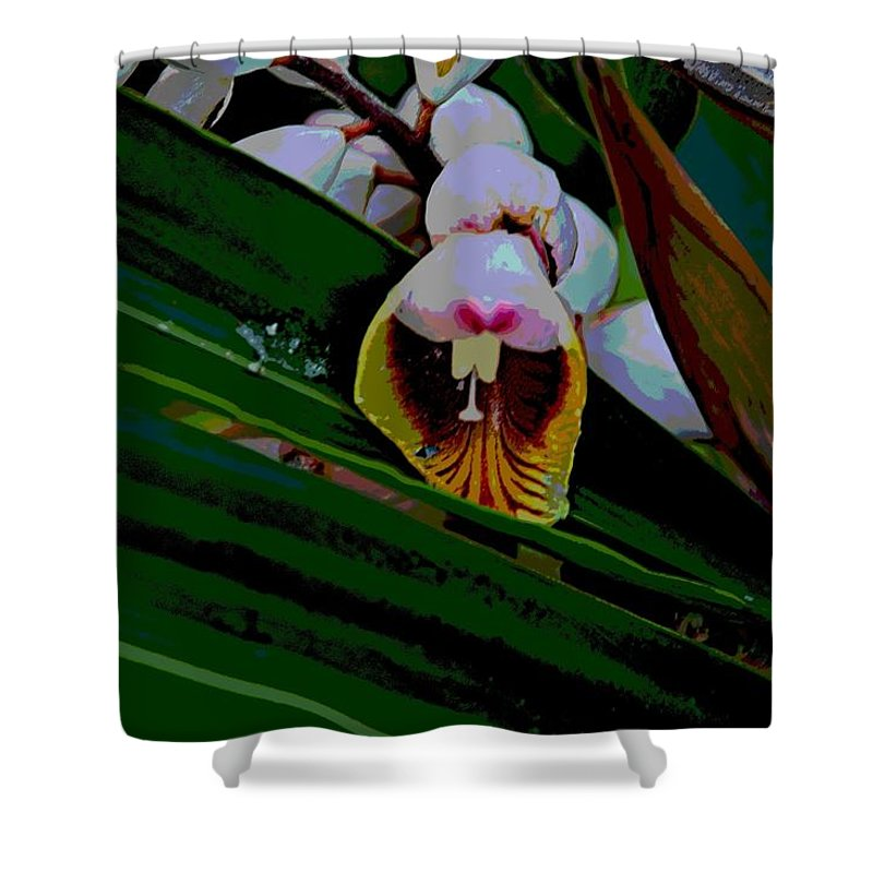 Blossom Shower Curtain featuring the photograph Bug Fx by Joseph Yarbrough