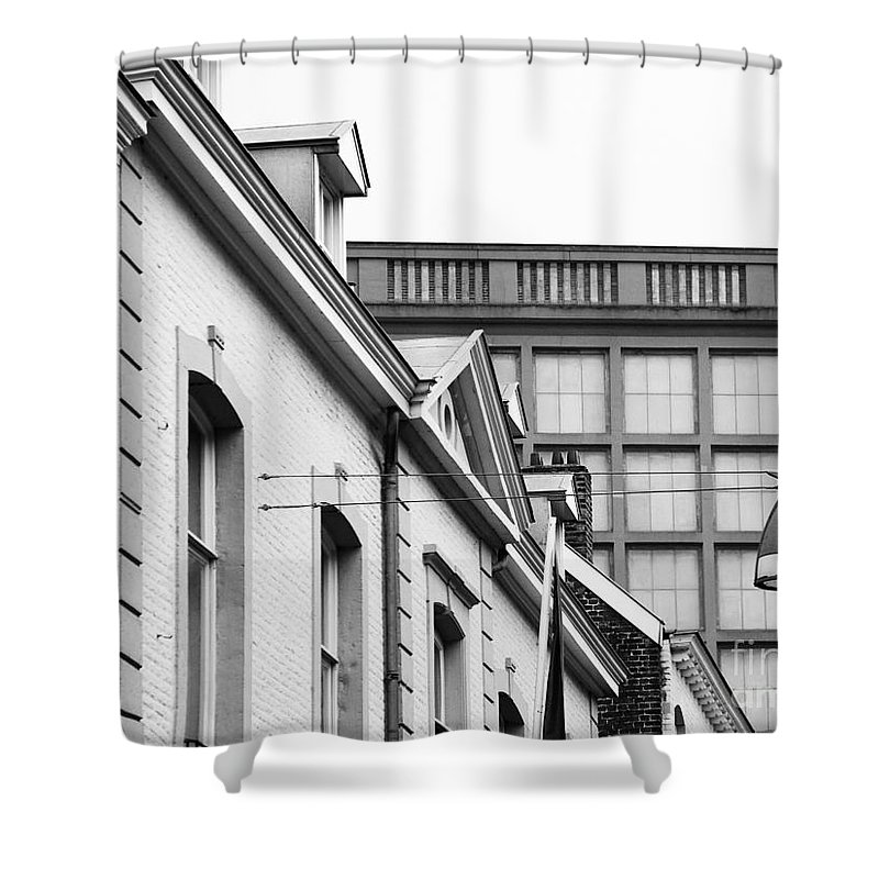 Maastricht Shower Curtain featuring the photograph Buildings In Maastricht by Nick Biemans