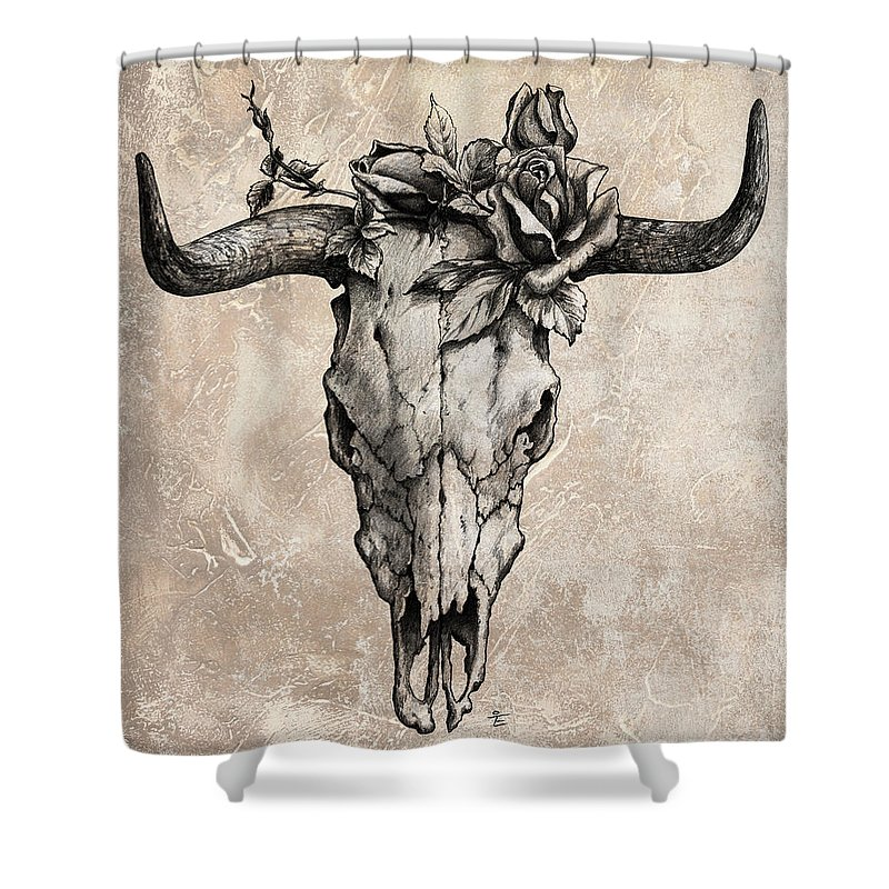 Cow Skull Shower Curtains | Fine Art America