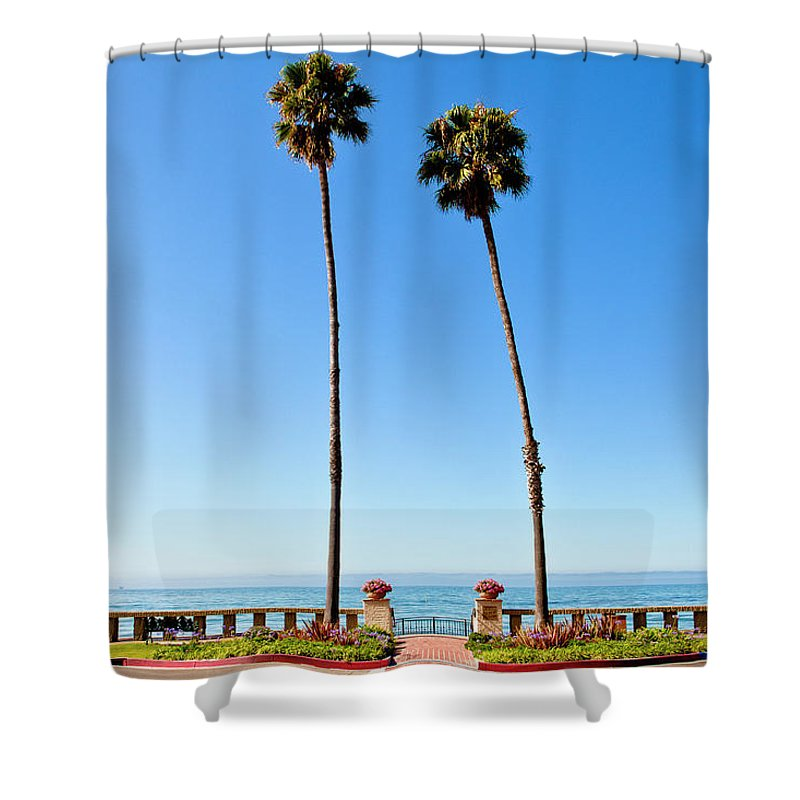 Tranquility Shower Curtain featuring the photograph Butterfly Beach, Santa Barbara by Geri Lavrov