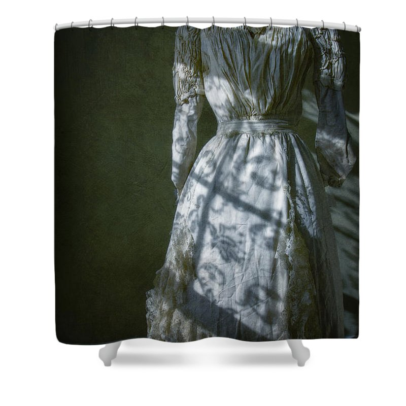 Antique Shower Curtain featuring the photograph By Moonlight by Margie Hurwich