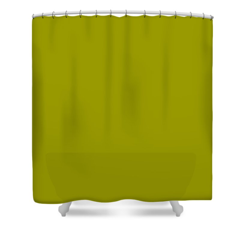 Abstract Shower Curtain featuring the digital art C.1.153-153-0.5x3 by Gareth Lewis