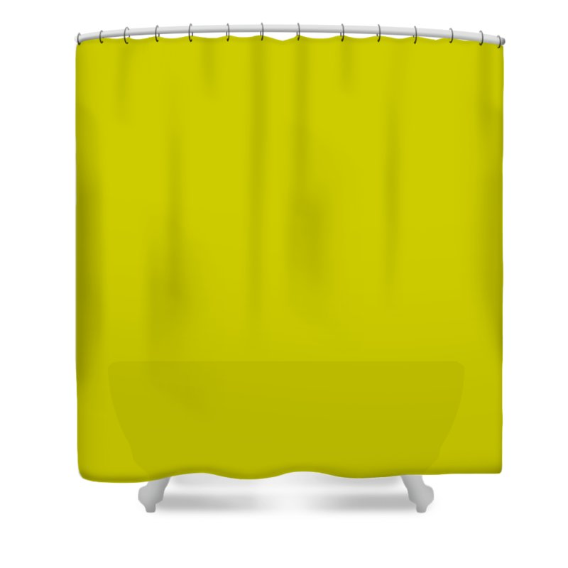 Abstract Shower Curtain featuring the digital art C.1.204-204-0.7x3 by Gareth Lewis