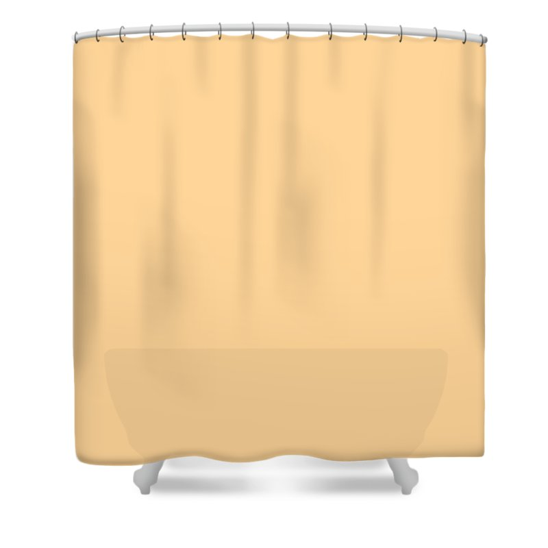 Abstract Shower Curtain featuring the digital art C.1.255-213-153.4x3 by Gareth Lewis
