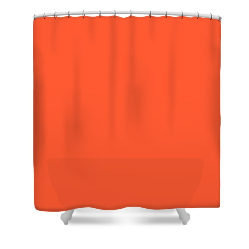 Abstract Shower Curtain featuring the digital art C.1.255-91-51.7x7 by Gareth Lewis