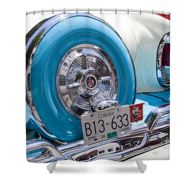 Cadillac Shower Curtain featuring the photograph Caddy by Chris Dutton