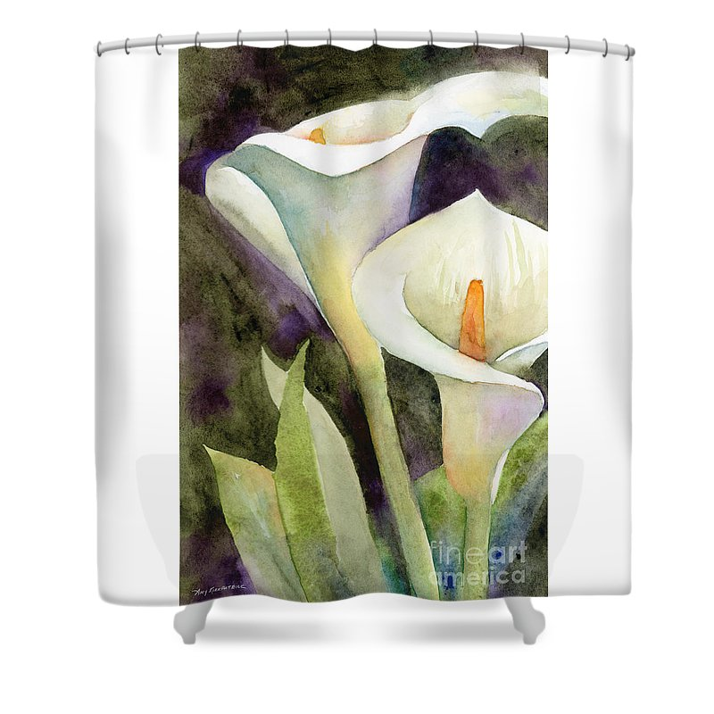 Calla Lily Shower Curtains