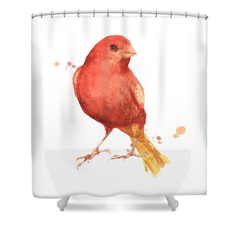 Canary Shower Curtains